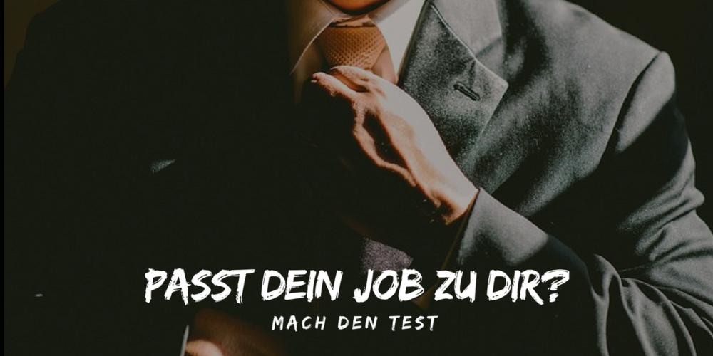 Wie gut passt dein Job zu dir